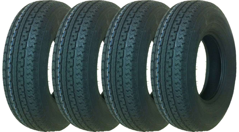 4 New Premium Grand Ride Trailer Tires ST235/85R16 Radial 10PR Load Range E - 11061