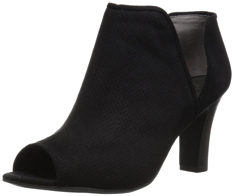LifeStride Women's Coana Ankle Bootie B071WTJVR9 11 W US Black