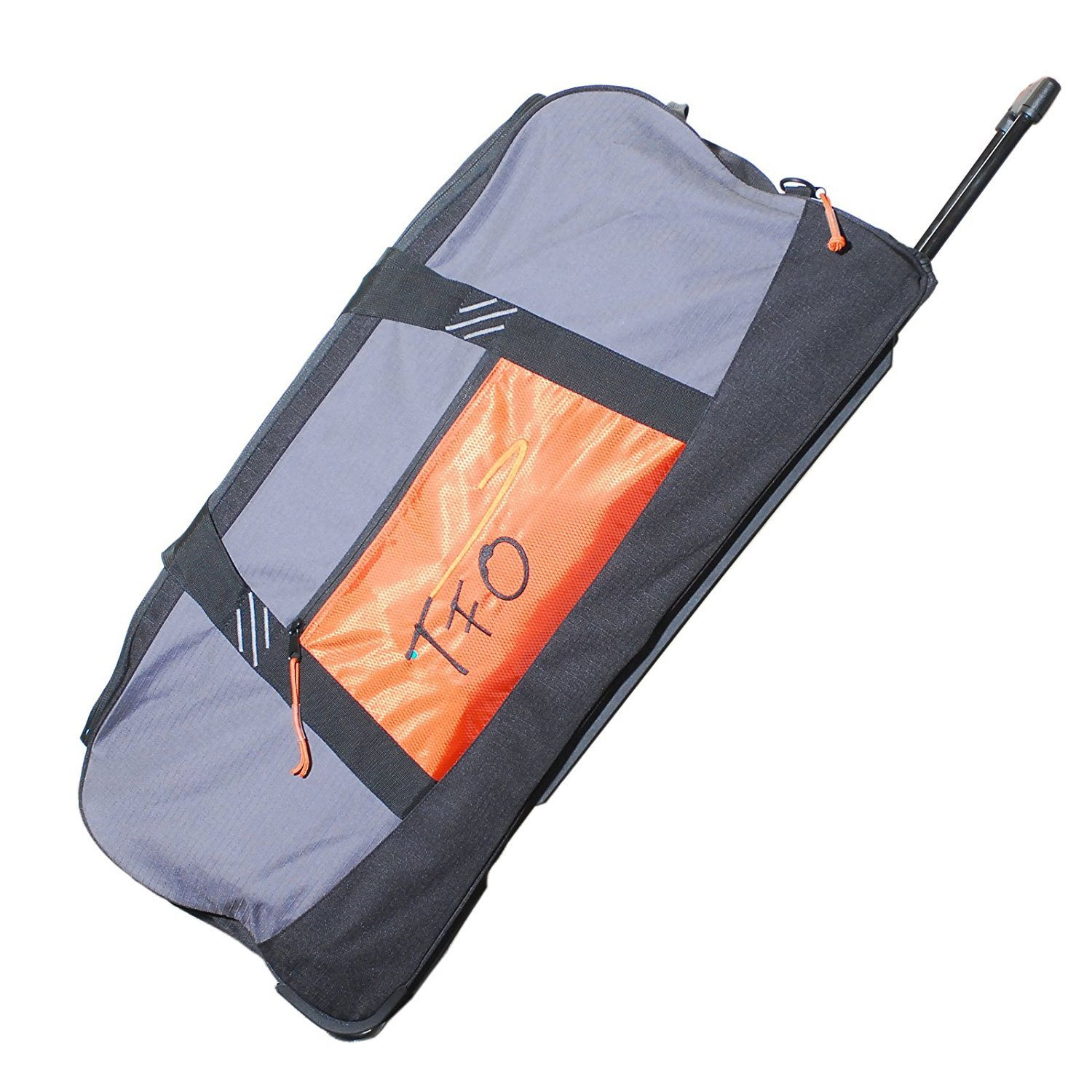 TFO 3616CB Large Rolling Fly Fishing Cargo Bag/Luggage, Grey