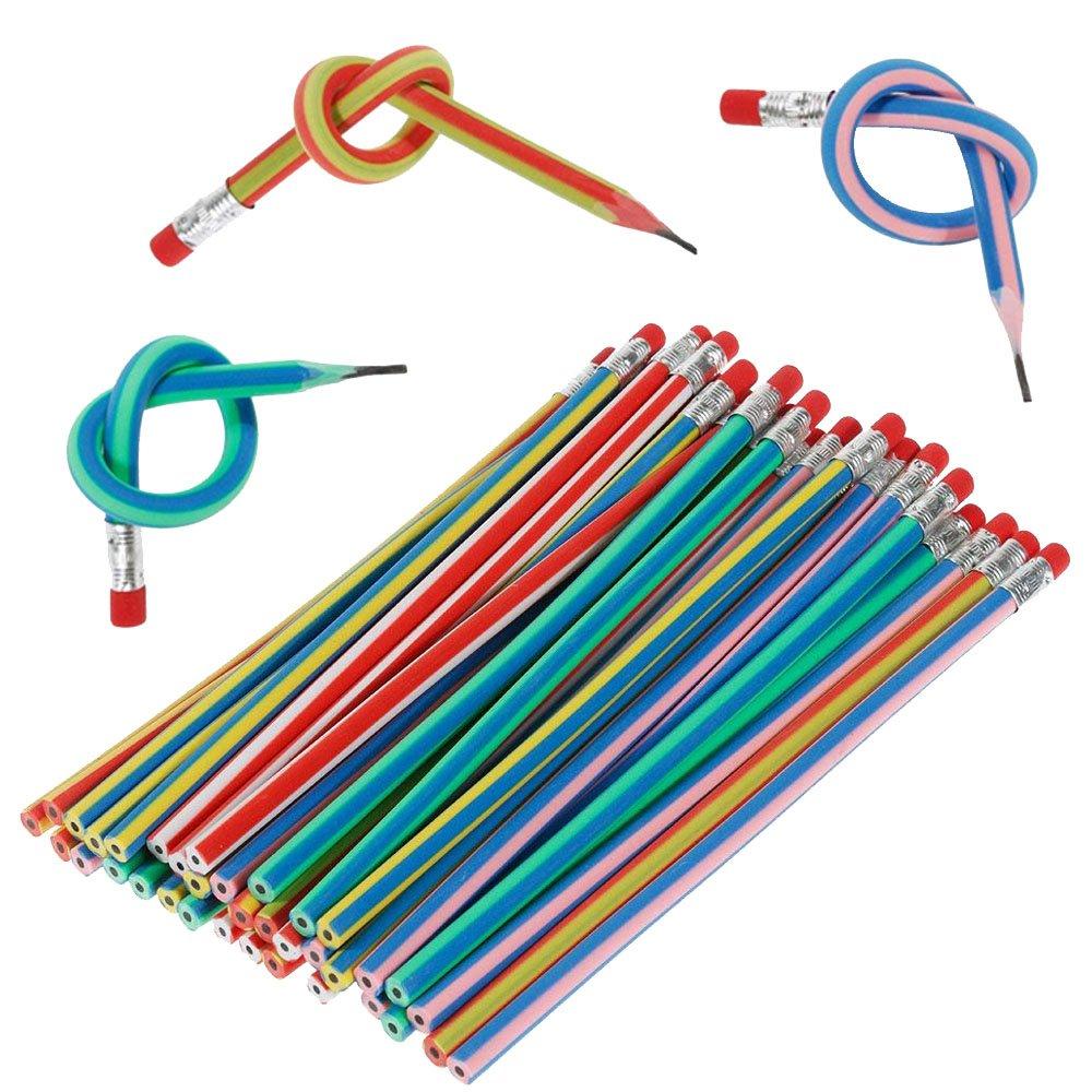 5x Bunte Lustige weiche magische Bleistift Radiergummi Kinder Schreiben Geschenk