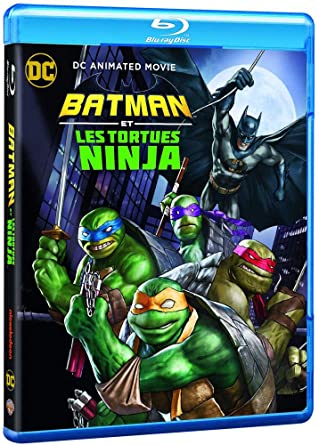Batman vs teenage mutant ninja turtles Francia Blu-ray ...