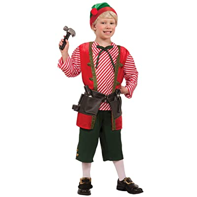Forum Novelties Toy Maker Elf Child's Costume, Medium: Toys & Games