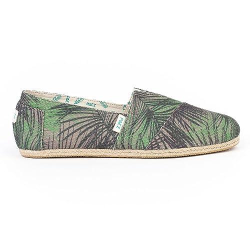 PAEZ Original Raw Mesh Print Safari Palms: Amazon.es: Zapatos y complementos