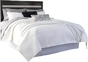 Signature Design by Ashley Starberry Queen/Full Panel Headboard, Black