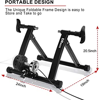 DRmois Indoor Bike Trainer Stand