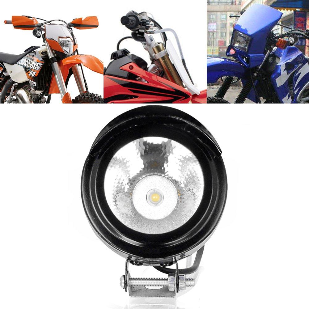 High Power LED Spot Light Headlight 12V 24V Universal For Motorcycle Auto  Car Off Road Bike