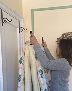 Bedding Over Door Hanger For Storage And Organization Holds Twin To King