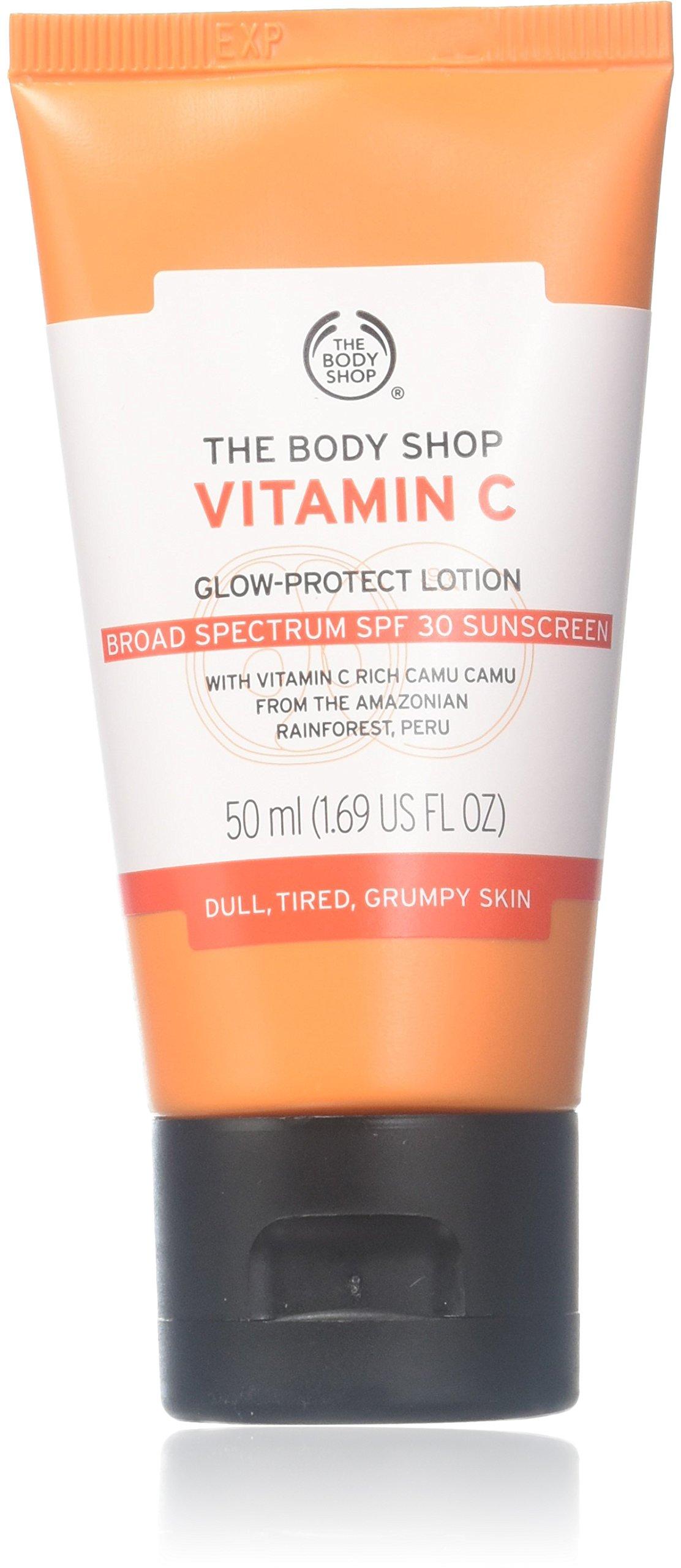 The Body Shop Vitamin C Glow-Protect Lotion SPF 30, 1.69 FL Oz