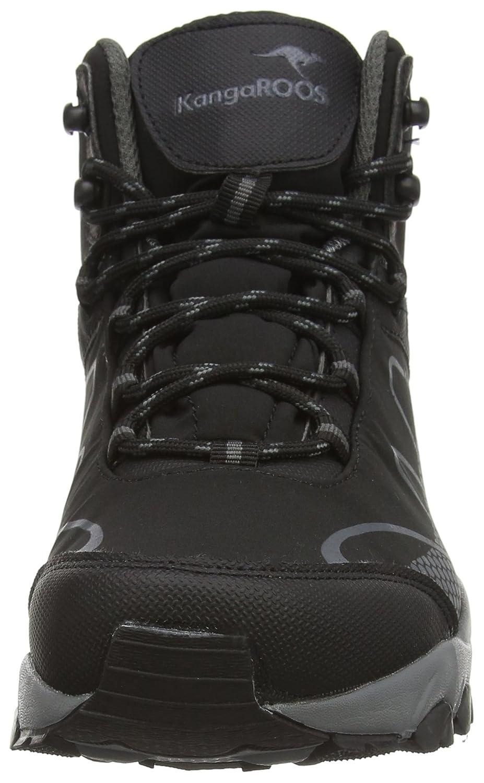 KangaROOS K Outdoor Soft 8091, Chaussures de randonnée mixte adulte Noir Noirgris foncé (522), 46 EU: : Chaussures et Sacs