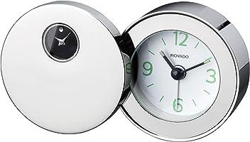 Movado Silvertone Travel Alarm Clock