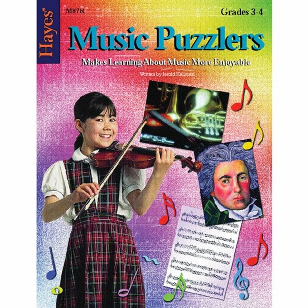 Pack of 5 Music Puzzlers - Book 2 (Grades 3-4)