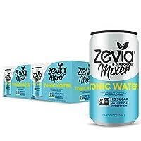 Zevia Tonic Water, 7.5oz (Pack of 12), Zero Calories, Zero Sugar Take on the Traditional...