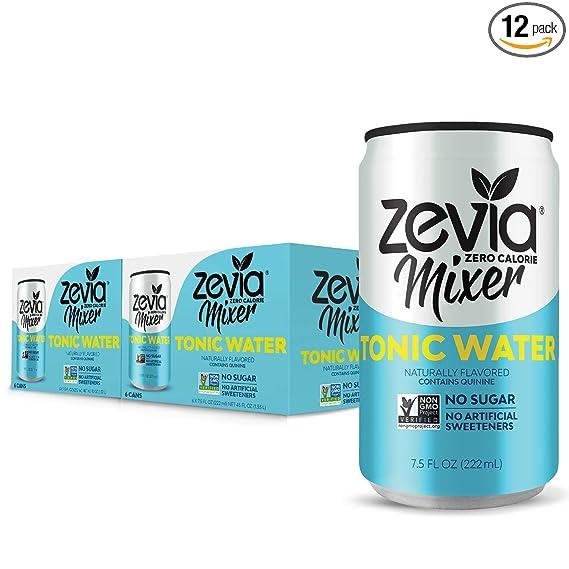 diet tonic water zero calories real or not
