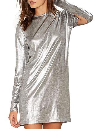 Silver Mini Dresses