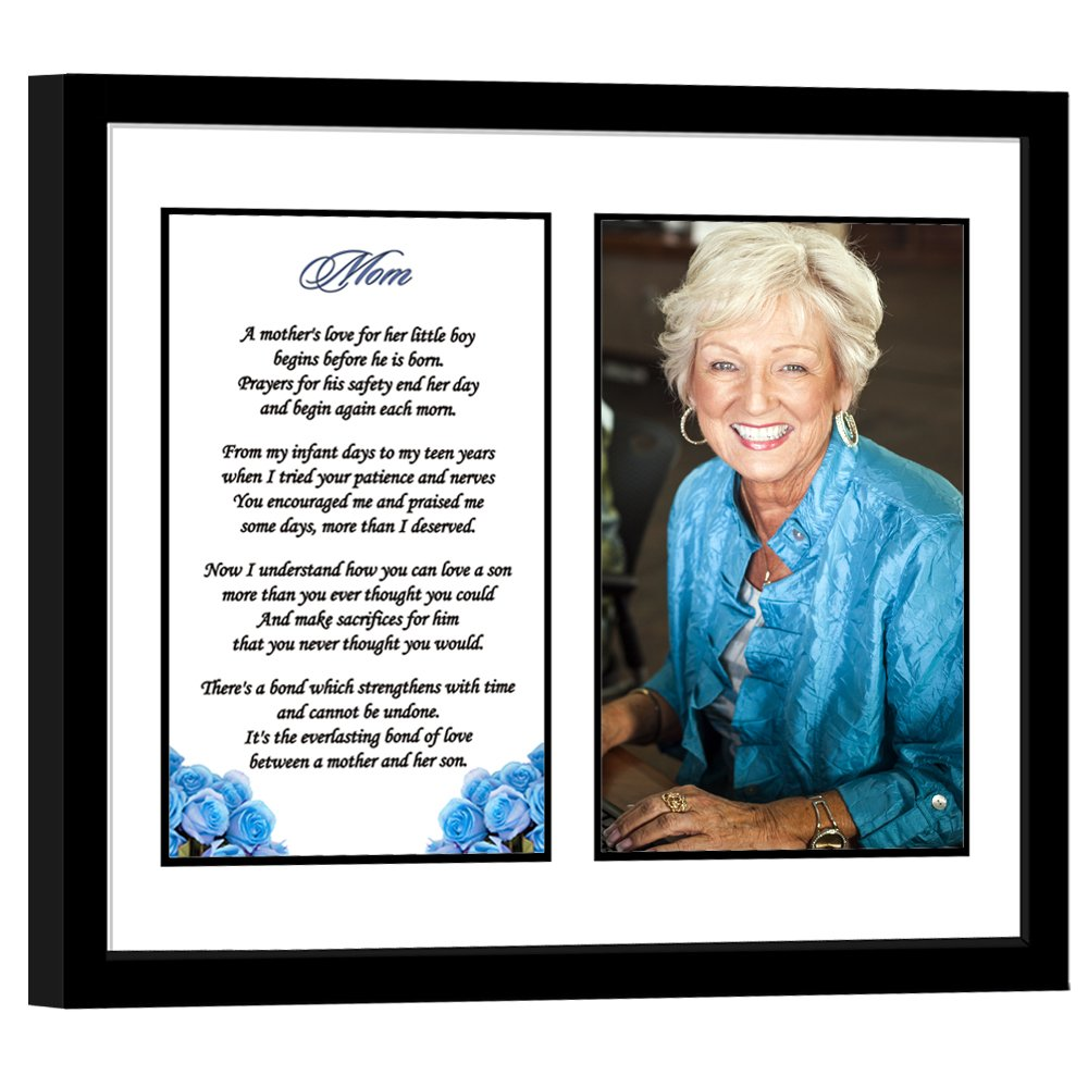 Mom Birthday Gift from Son - Sweet Poem for Mom - Add Photo