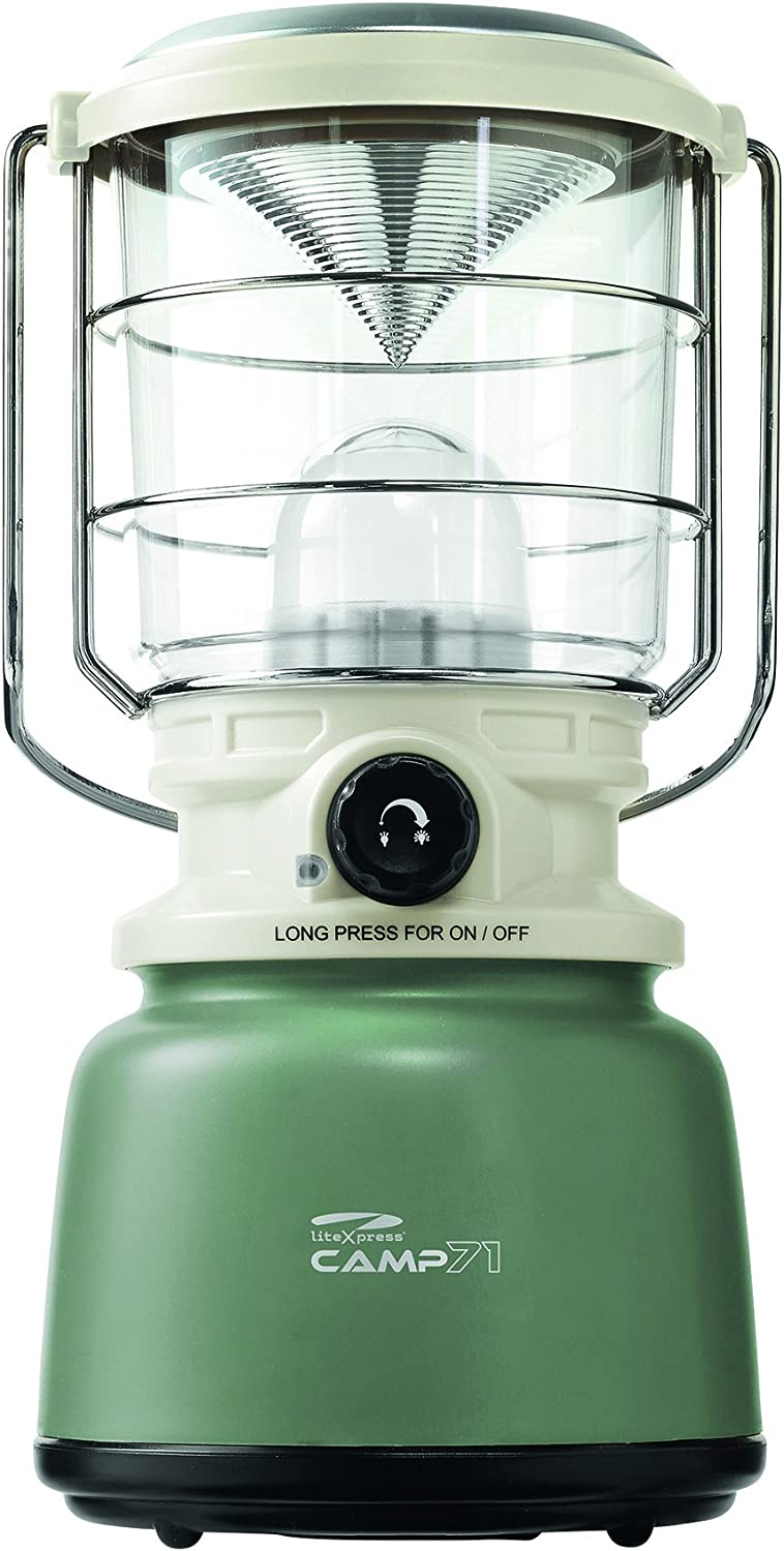 LiteXpress LXL907078B Camp 71 Lantern Lights with 1000 Lumen Light Output