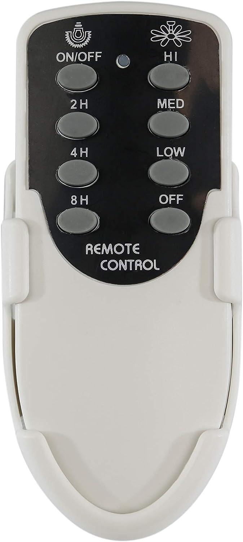 Sulion - Mando control remoto función sleep para ventilador de techo con motor AC