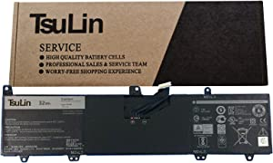 TsuLin 0JV6J Laptop Battery Compatible with Dell Inspiron 3162 3164 3168 3179 3180 Series Notebook PGYK5 OJV6J 8NWF3 7.6V 32Wh 4013mAh