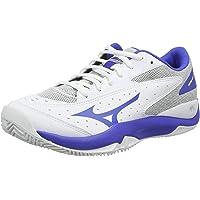 Mizuno Bayan Wave Flash Cc tenis ayakkabısı, beyaz, tek beden Beyaz Size: