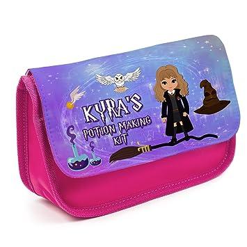 Estuche personalizado Harry Potter Hogwarts KS158 para niñas ...