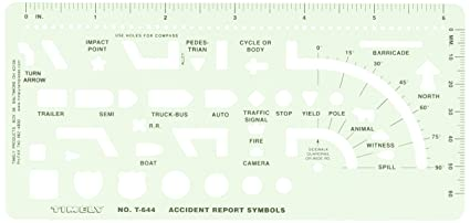 Amazon timely 644t accident report symbols template arts timely 644t accident report symbols template ccuart Gallery