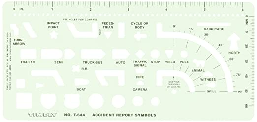 Amazon timely 644t accident report symbols template arts amazon timely 644t accident report symbols template arts crafts sewing ccuart Choice Image