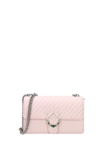24246bbc0c84c Women s Accessories Pinko Quilted Pink Love Bag Spring Summer 2018  Amazon. co.uk  Clothing