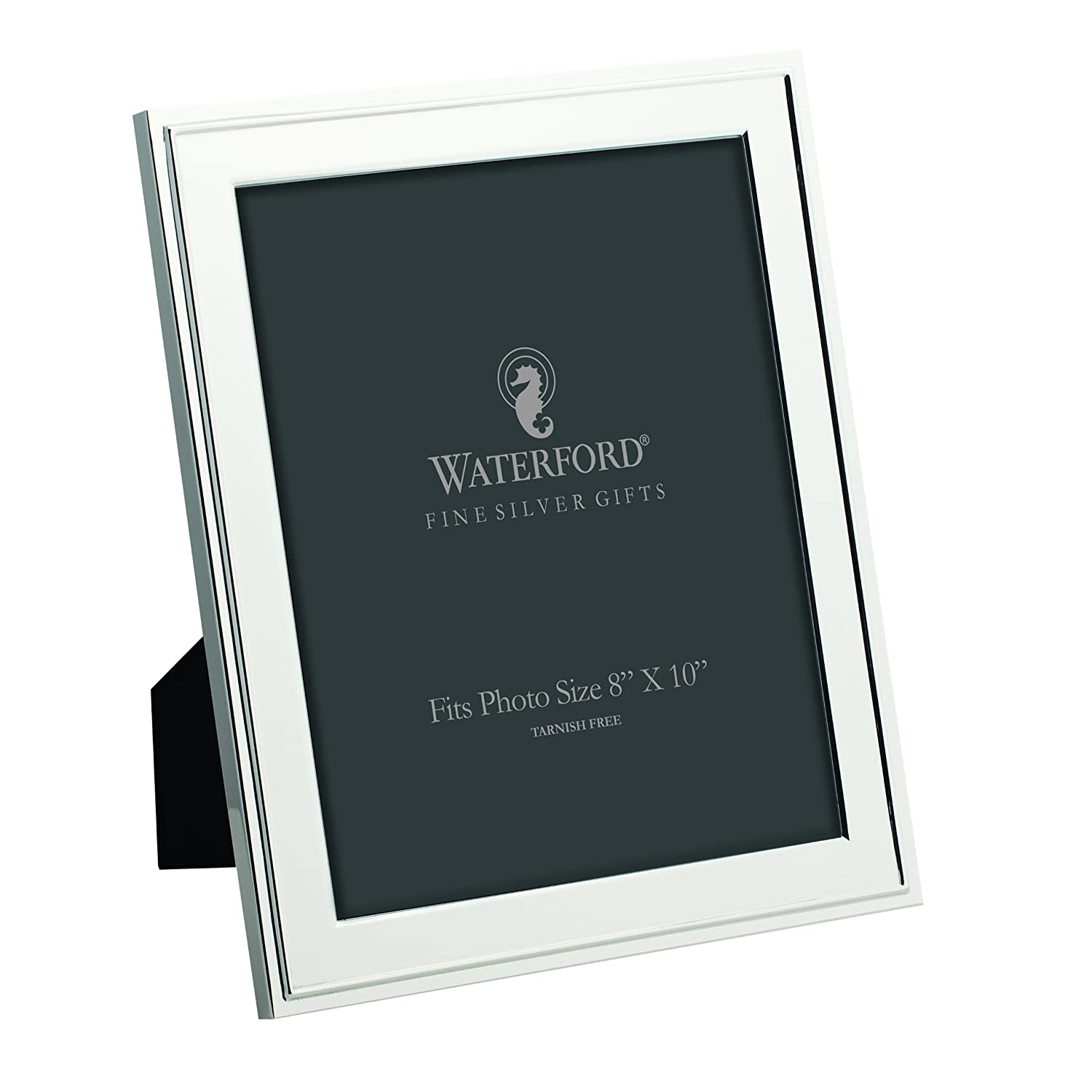 Amazon.com - Waterford Classic 8 by 10 Frame - Silver Picture Frame