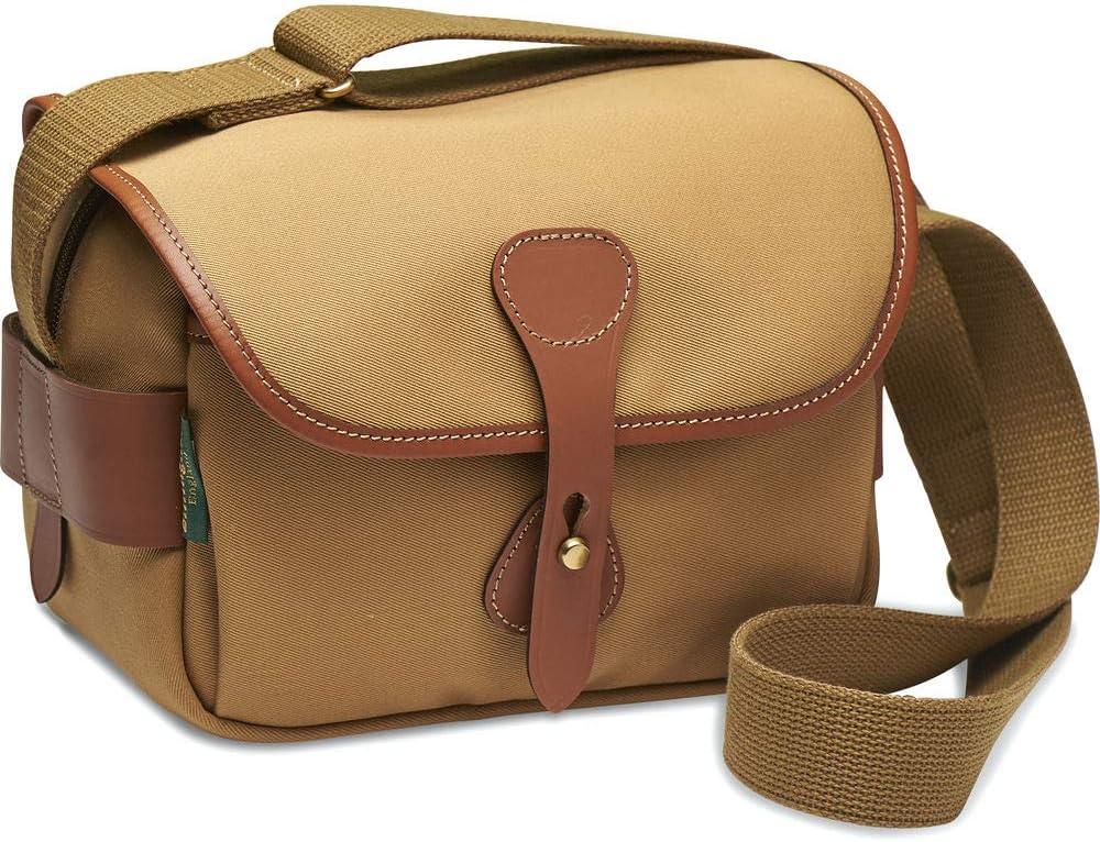 Khaki Canvas /& Tan Leather - Wallet Cap Keeper More Cleaning Kit BillinghamS2 Camera Bag Reader