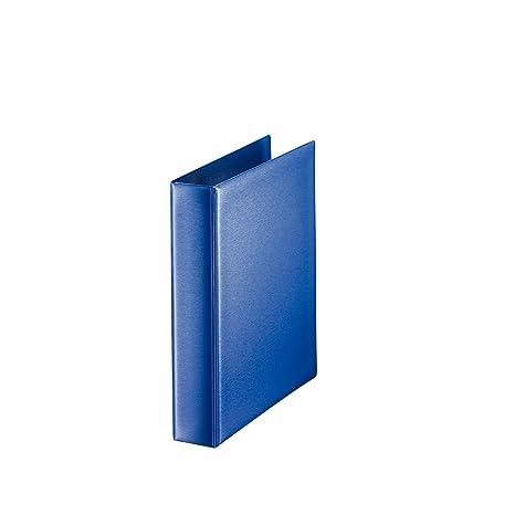 Leitz 46040035 - Archivador con 2 anillas A5, azul