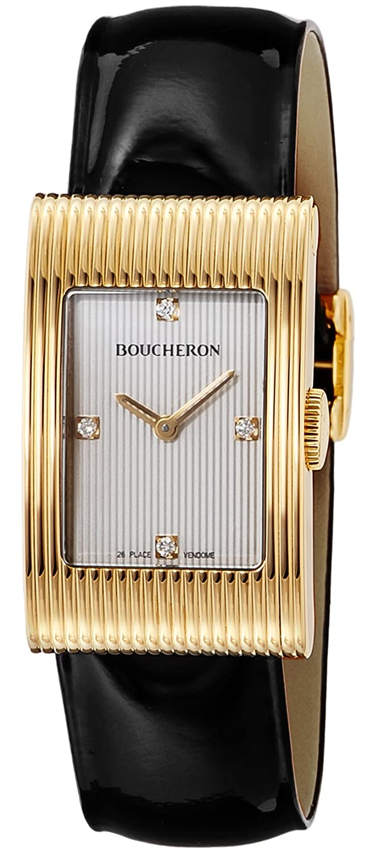 [ブシュロン]Boucheron 腕時計 リフレ ホワイト文字盤 18Kケース WA009426 レディース 【並行輸入品】 B01LX9ELU5