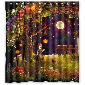 Amazon CafePress Vintage Halloween Full Moon Witch Decorative