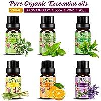 Set de aceites esenciales,100% Natural Puro Aromaterapia Aceite