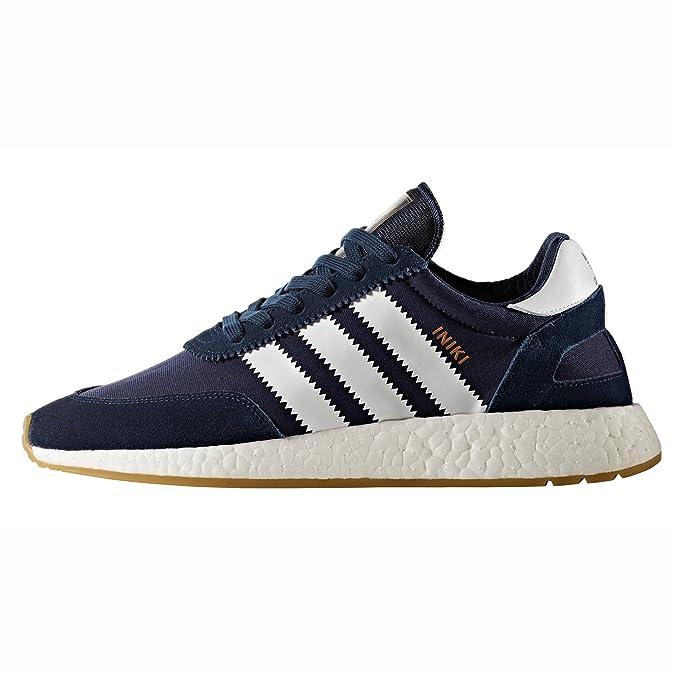 hot sale online bb24d 697c4 adidas Originals Iniki Runner I-5923, BB2092, BB2093. Scarpe Sportive Uomo  Marine e Bianche. Sneaker Boost Amazon.it Scarpe e borse