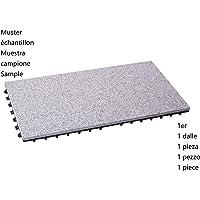 BodenMax LLGRA001-GRY-3060-YP Baldosa de Granito para terraza, jardines