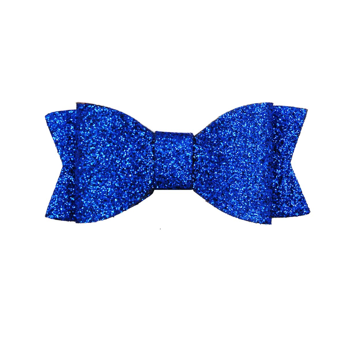 30PCS 2.75 Baby Girls Pigtail Bows Sparkly Sequin Glitter Hair Bows With Alligator Clips Hair Barrettes Accessory for Girls Toddlers Kids Teens