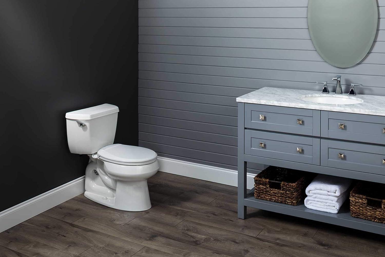 Biscuit//Linen H1900NL 346 Elongated Bemis Radiance Plastic Toilet Seat