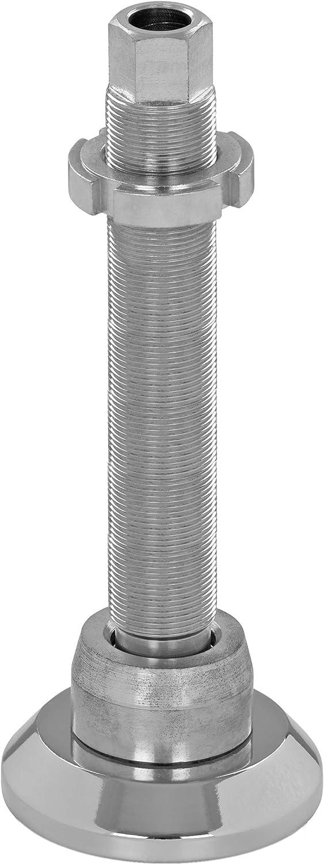 acero inoxidable antivibraciones y m/áquinas h/öhenverstellbare pies SFE 50 di/ámetro de 50/mm juego de 4