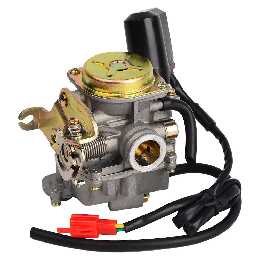 HIFROM TM Carb Carburetor for Scooter 50cc Chinese GY6 139QMB Moped 49cc 60cc by HIFROM (Image #3)