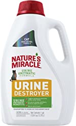 Nature's Miracle Urine Destroyer for Cats, Light Fresh Scent, Tough on