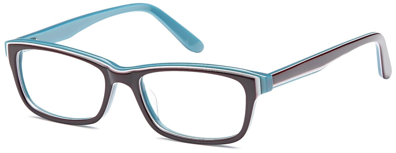 a92af2e7ab94 Amazon.com  DALIX Womens Prescription Eyeglasses Frames 50-16-140-31 RXable  in Black GLS-W16529-C1-BLACK  Clothing