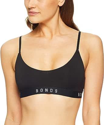 Bonds Women's Originals String Scoop Crop Bra