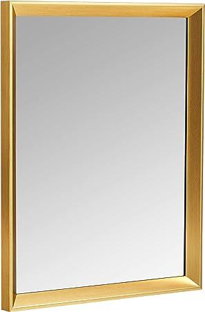 finitura standard Basics Specchio da parete rettangolare da 50,8 x 71,1 cm nero