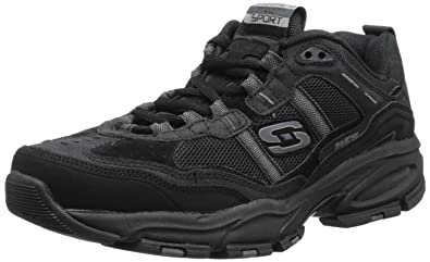 Skechers Sport Men's Vigor Sneaker,Black,8.5 ...