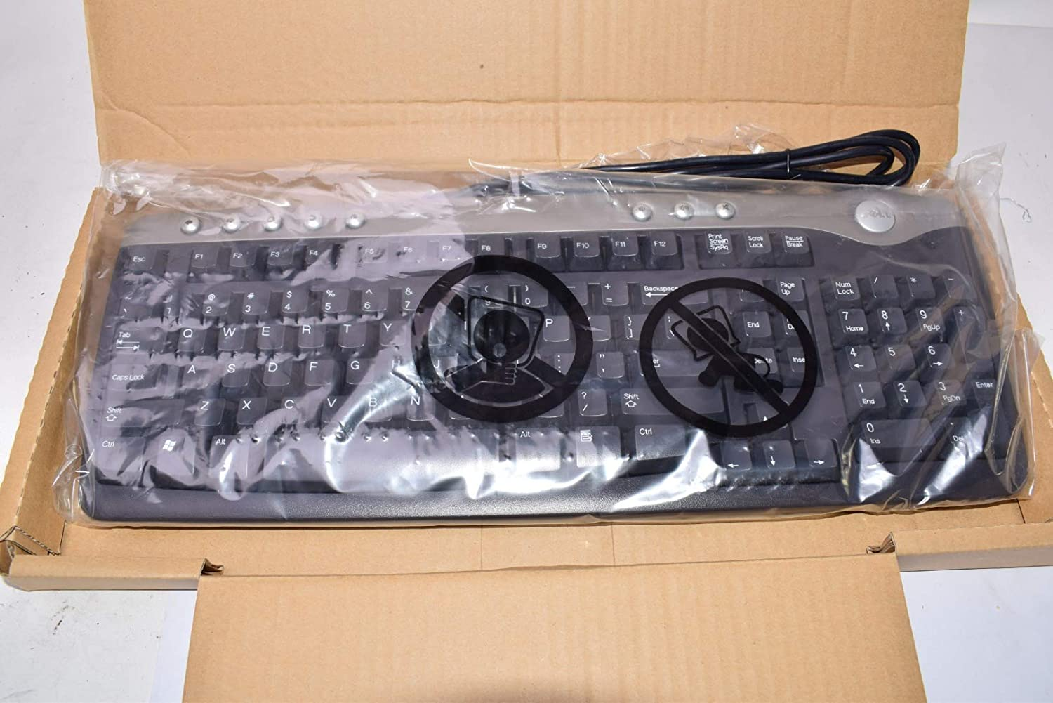 Dell SK 8125 USB Enhanced Multimedia Keyboard