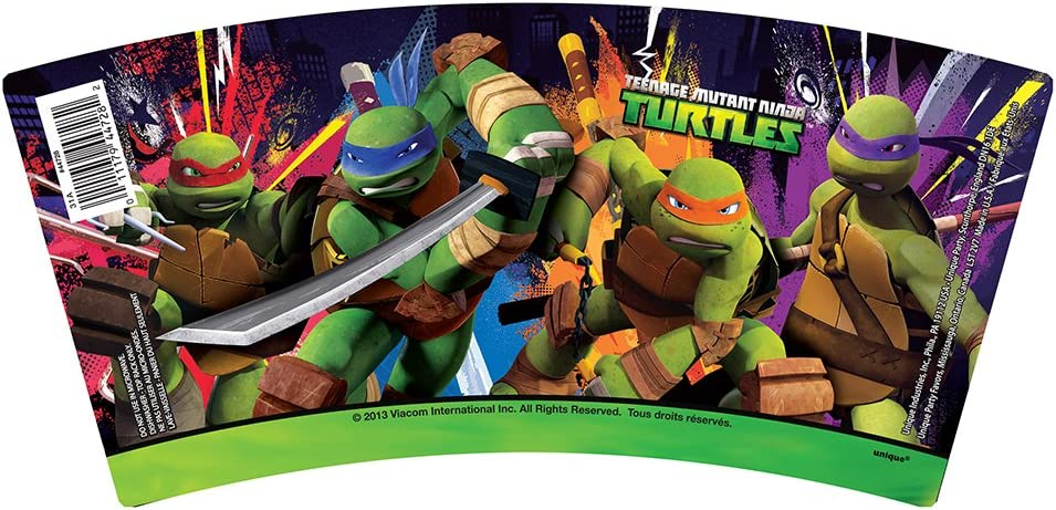 Amazon.com: Mantel de plástico de las Tortugas Ninja ...