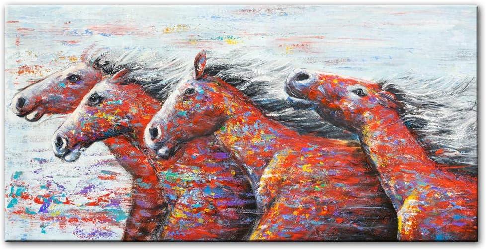1 Parte Impresión En Material Tejido No Tejidoresumen Running Horse Wall Art Impresiones En Lienzo Arte Moderno Animales Pinturas En La Pared Impresión En Lienzo Decoración Para El Hogar Cuadros Cuadr