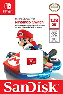 Amazon.com: SanDisk 128GB microSDXC UHS-I card for Nintendo ...