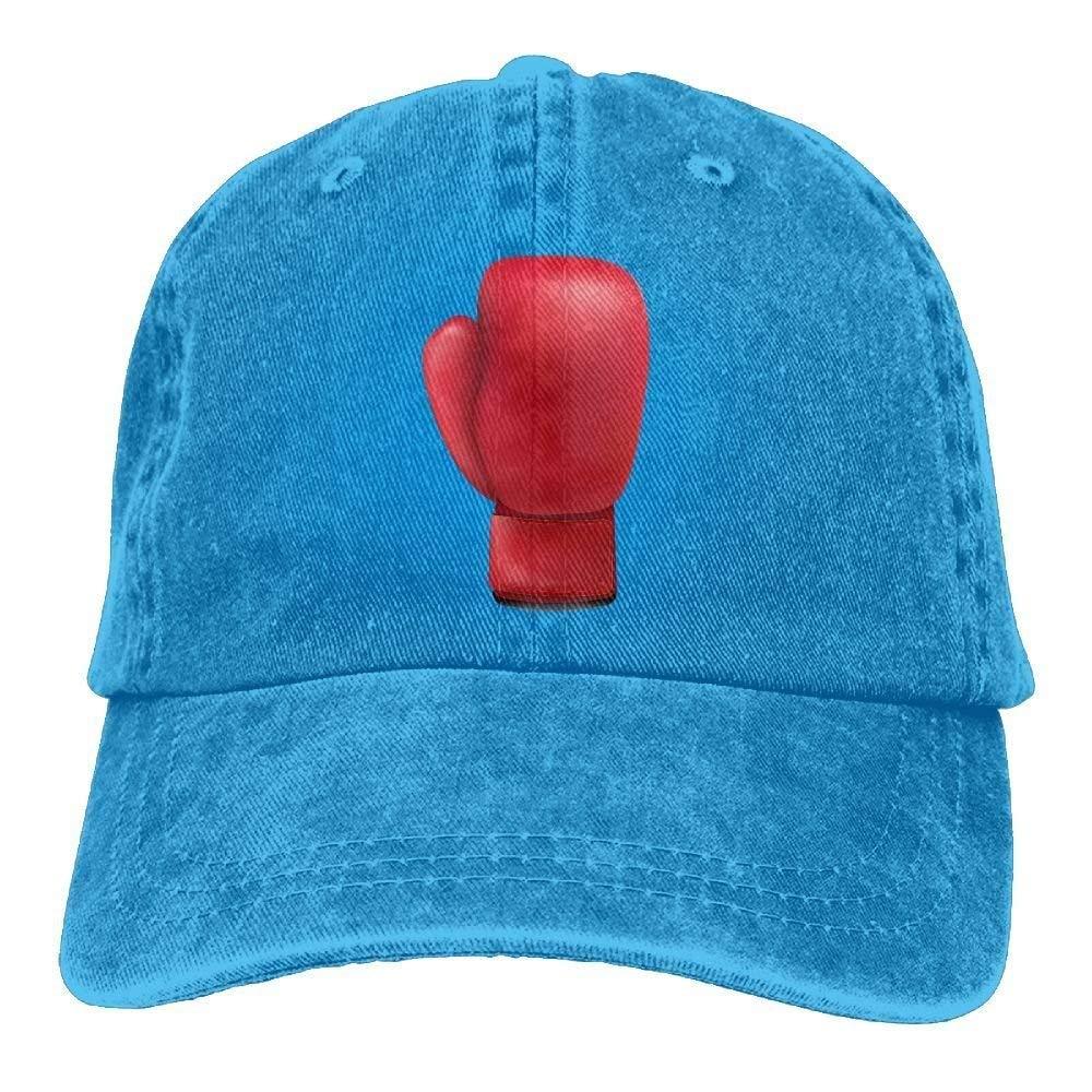 Xukmefat Guante de Boxeo 3 Denim Hat Ajustable para Mujer Papá ...