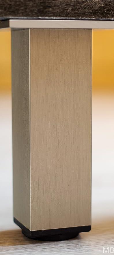 MB FERRA - Pie para muebles (Acero Inoxidable Acabado 45 x ...